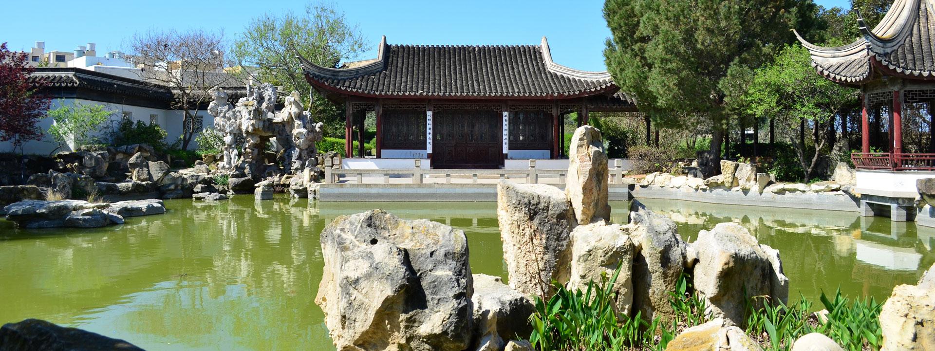 Les jardins lapidaires de la chine ancienne jardins for Jardin chinois
