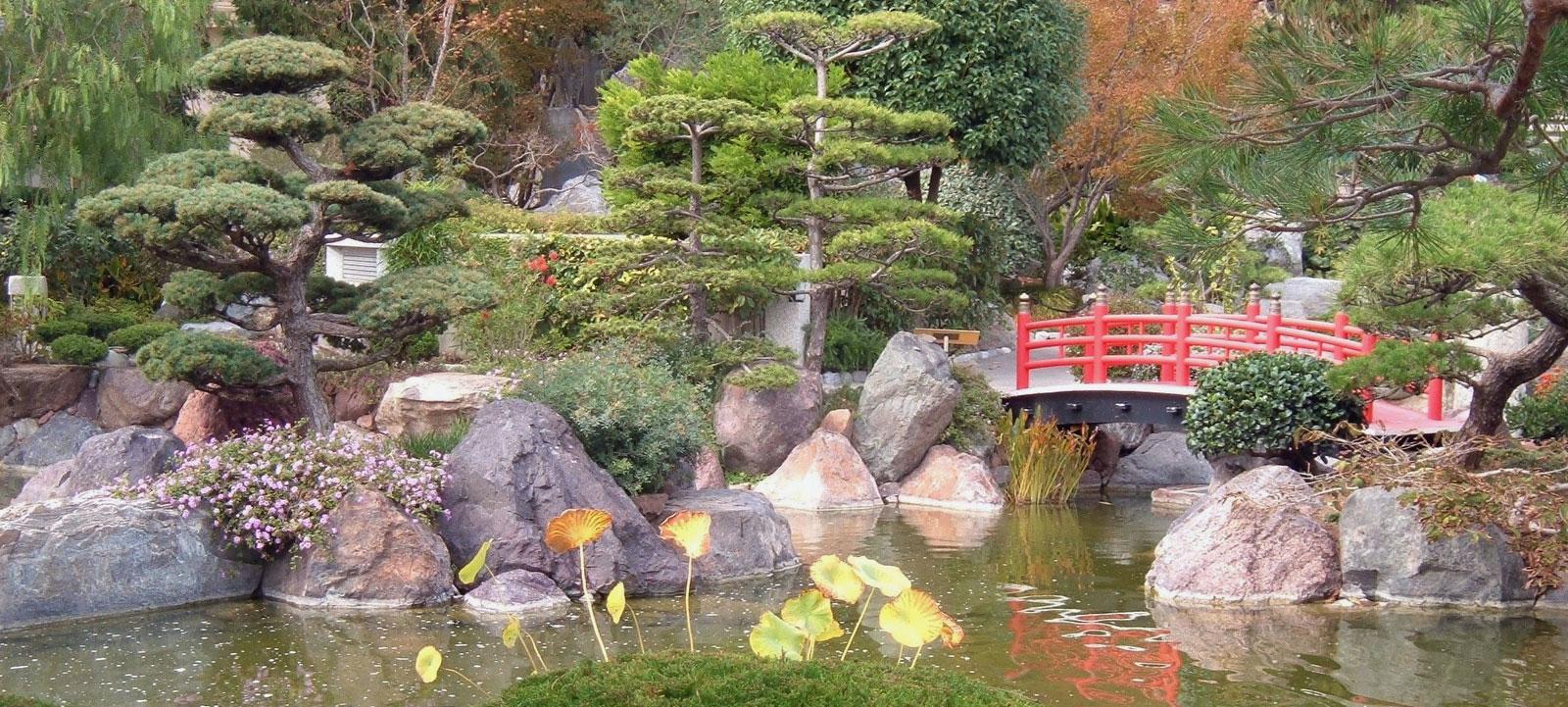 Trois formes de jardin paysage japonais jardins aquatiques for Creation d un etang de jardin